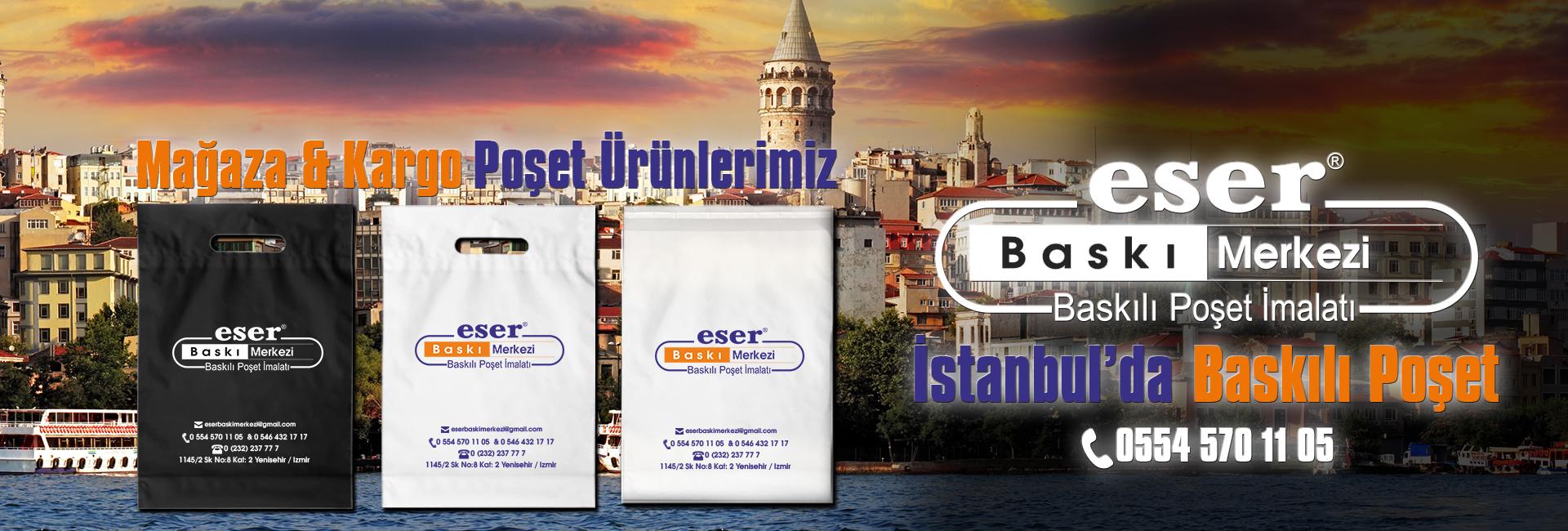 İstanbul Baskılı Poşet